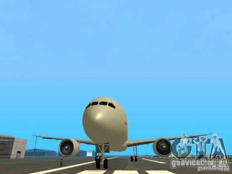 Boeing 787 Dreamliner Air Canada для GTA San Andreas вид сбоку