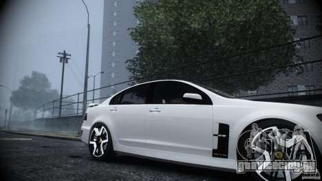Holden HSV GTS для GTA 4 вид справа