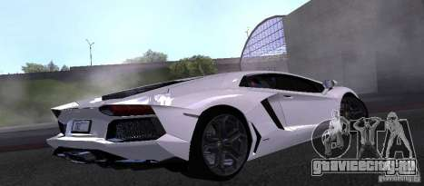 Lamborghini Aventador LP700-4 Final для GTA San Andreas вид слева