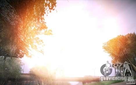 Lensflare 1.1 Final для GTA San Andreas второй скриншот