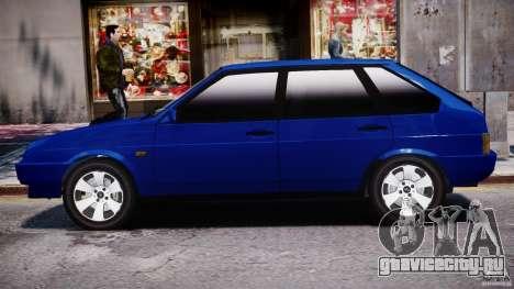 ВАЗ-21093i для GTA 4 вид сверху