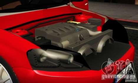 Volkswagen Passat B7 2012 для GTA San Andreas вид изнутри