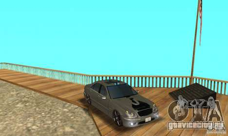 Mercedes Benz AMG S65 DUB для GTA San Andreas вид сбоку