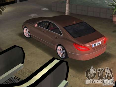 Mercedes-Benz CLS350 для GTA Vice City вид слева