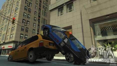 Lamborghini Reventon Police Hot Pursuit для GTA 4 вид сверху