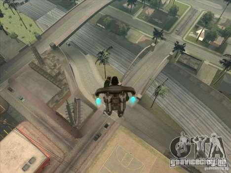 Спрыгнуть с Jet pack для GTA San Andreas второй скриншот