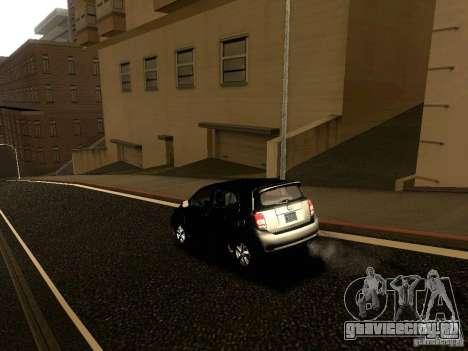 Scion xD для GTA San Andreas вид сверху
