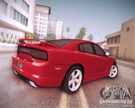 Dodge Charger 2011 v.2.0 для GTA San Andreas вид снизу