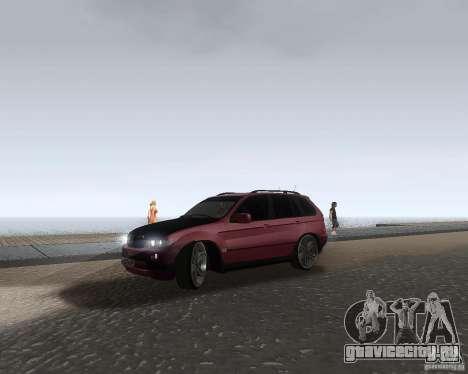 BMW X5 Sport Tun для GTA San Andreas вид слева