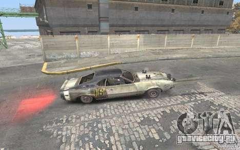 Malice from FlatOut2 для GTA San Andreas вид сзади слева