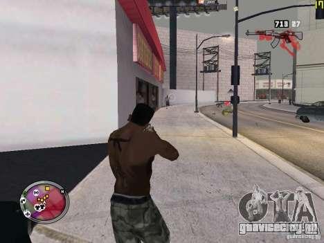 Новые ГАНГСТЕРСКИЕ зоны для GTA San Andreas двенадцатый скриншот