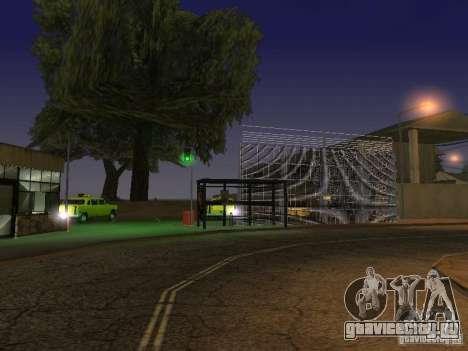 Первый таксомоторный парк версия 1.0 для GTA San Andreas пятый скриншот
