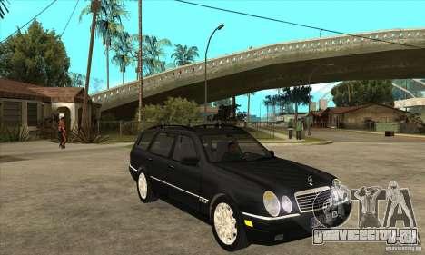 Mercedes-Benz W210 E320 1997 для GTA San Andreas вид сзади