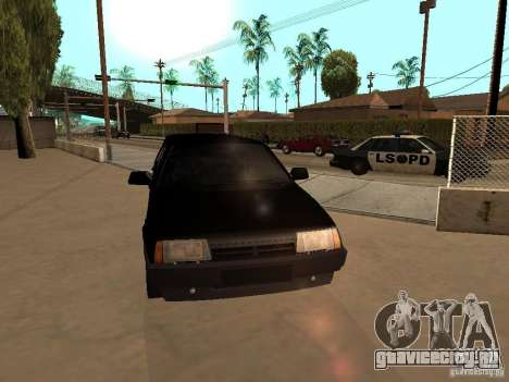 ВАЗ 21099 Лимузин для GTA San Andreas вид изнутри