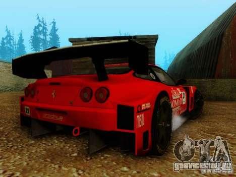 Ferrari 550 Maranello Super GT500 для GTA San Andreas вид слева