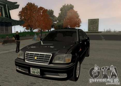 Toyota Crown Majesta S170 для GTA San Andreas