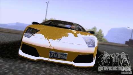 Lamborghini Murcielago LP640 2006 V1.0 для GTA San Andreas вид изнутри