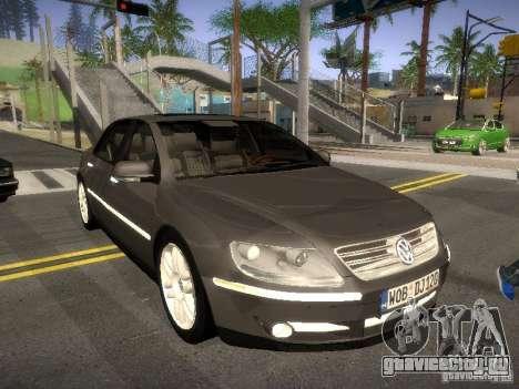 Volkswagen Phaeton W12 для GTA San Andreas вид слева
