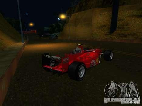 Ferrari F1 для GTA San Andreas вид слева