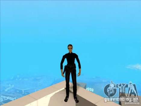 Matrix Skin Pack для GTA San Andreas третий скриншот
