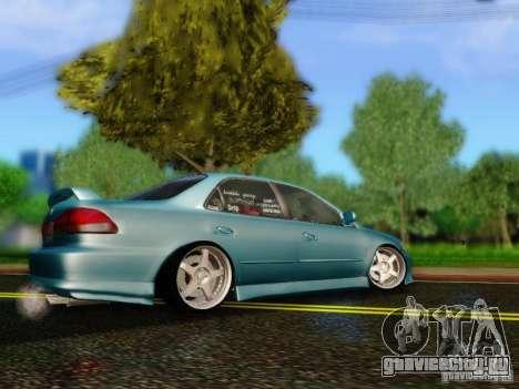 Honda Accord 2001 для GTA San Andreas вид слева