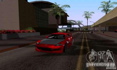 Mazda RX-8 Speed для GTA San Andreas вид справа