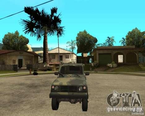 УАЗ 3172 для GTA San Andreas вид сзади