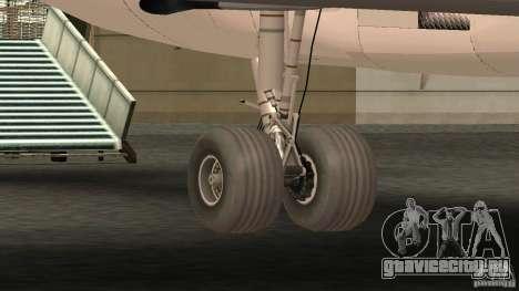 Boeing 727-200 Final Version для GTA San Andreas вид сзади