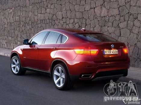Загрузочные Экраны BMW X6 для GTA San Andreas десятый скриншот