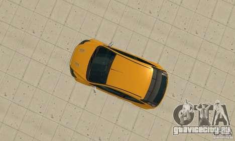 Ford Focus RS для GTA San Andreas вид сзади