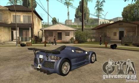Gumpert Apollo Sport для GTA San Andreas вид справа