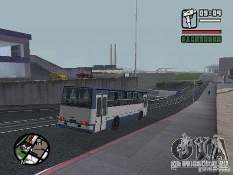 Ikarus 260.27 для GTA San Andreas вид сзади