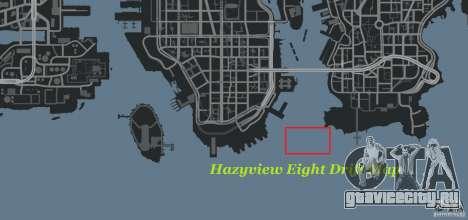 Hazyview Eight Drift Map для GTA 4 шестой скриншот