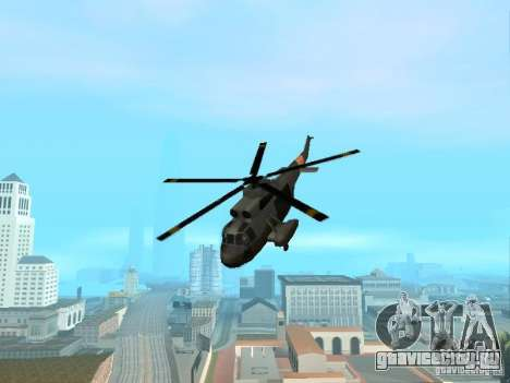 Enterable Leviathan для GTA San Andreas вид сзади слева