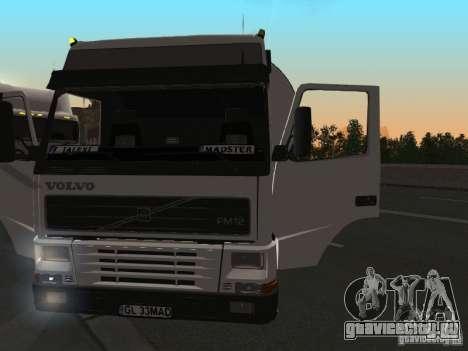 Volvo FM12 для GTA San Andreas вид справа