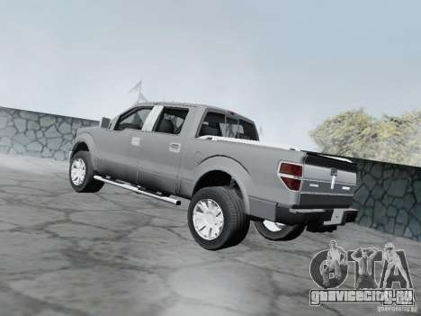 Lincoln Mark LT 2013 для GTA San Andreas вид слева