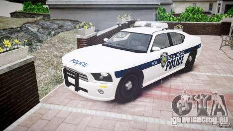 FIB Buffalo NYPD Police для GTA 4 вид сзади