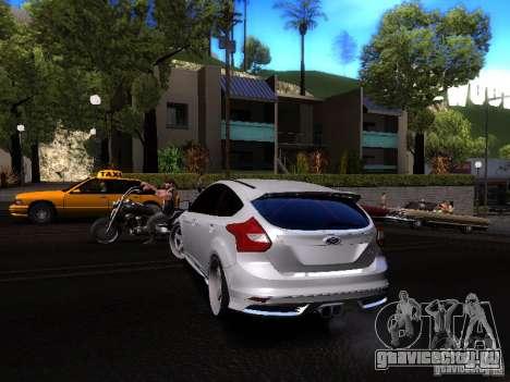 Ford Focus 2012 ST для GTA San Andreas вид справа