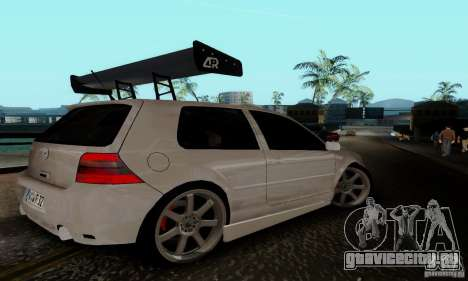 Volkswagen Golf 4 для GTA San Andreas вид справа