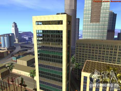 20th floor Mod V2 (Real Office) для GTA San Andreas третий скриншот