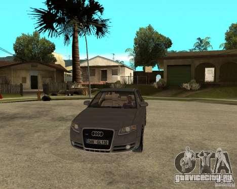 Audi A4 2005 Avant 3.2 quattro для GTA San Andreas вид сзади