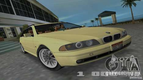 BMW 5S Touring E39 для GTA Vice City