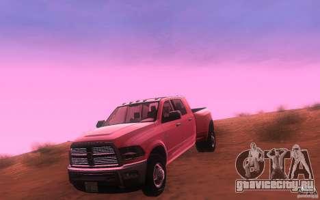 Dodge Ram 3500 Laramie 2010 для GTA San Andreas