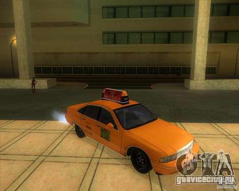 Chevrolet Caprice Taxi 1991 для GTA San Andreas вид справа