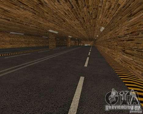 Новые дороги для GTA San Andreas четвёртый скриншот