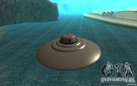 Bob Lazar Ufo для GTA San Andreas