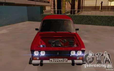 ВАЗ 2106 Сток для GTA San Andreas вид сбоку