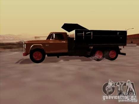 Dodge Dumper для GTA San Andreas вид сзади