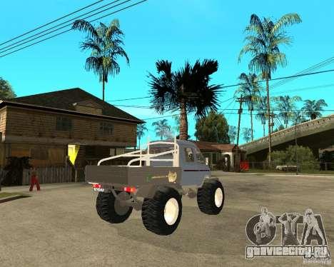 ГАЗ КержаК (Болотоход) для GTA San Andreas вид сзади слева