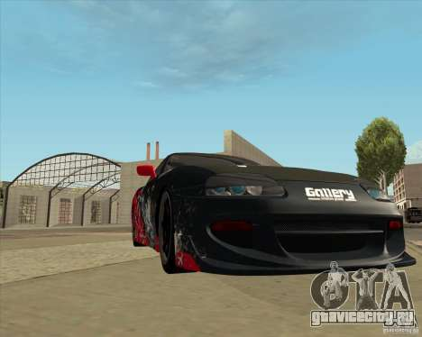 Toyota Supra by Cyborg ProductionS для GTA San Andreas вид сбоку